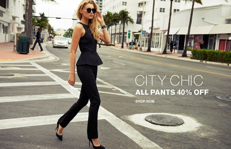 City Chic | All Pants 40% Off | Shop Now