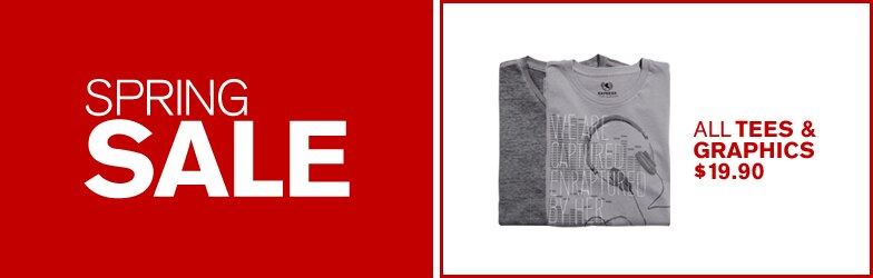 Express - Spring Deals - Men's Tees