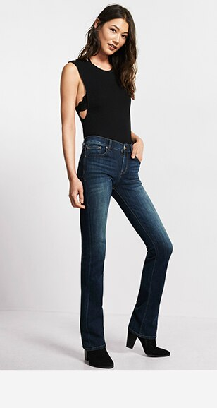 Womens Barely Boot Jeans