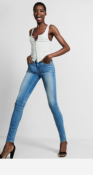 Womens Legging Jeans