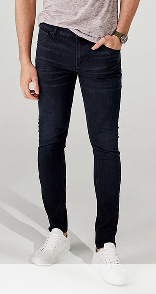 Mens loose fit skinny jeans