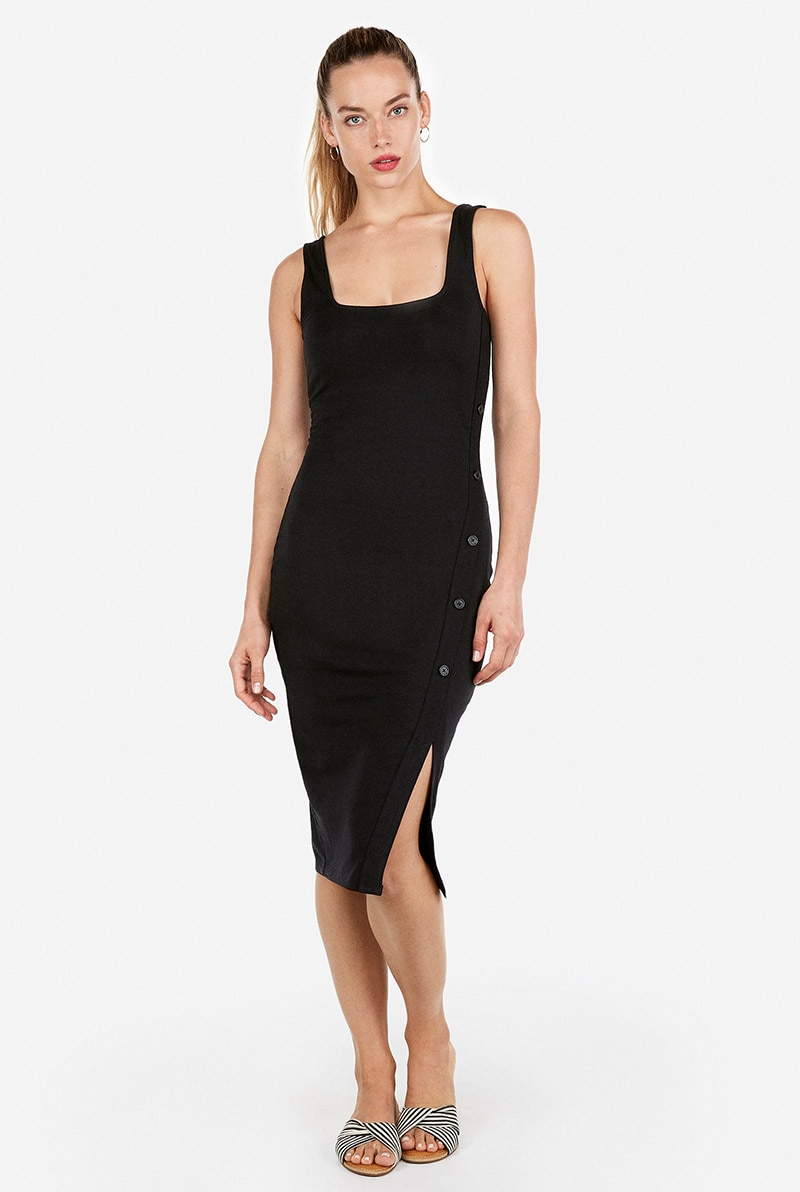 WOMENS MIDI DRESS STYLES 87386596a74b