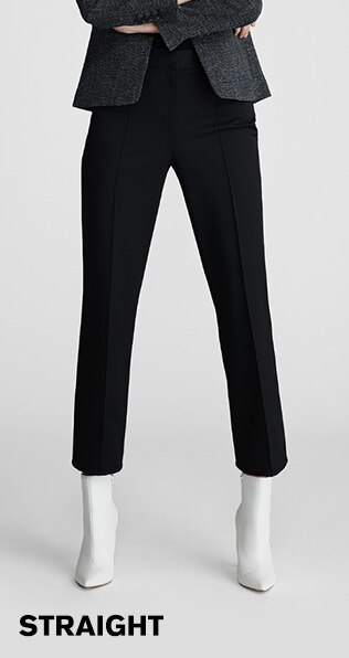 womens straight dress pants
